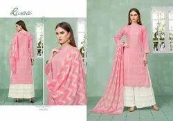 Rivaa Exports Samta Pure Cotton Plazzo Style Salwar Kameez