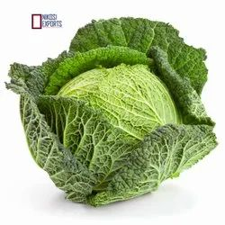 Green Savoy Cabbage,  Packaging Size: 20KG