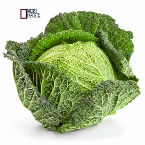 Green Savoy Cabbage Packaging Size 20kg Rs 12 Kg Nikosi Exports Id 21512847697
