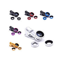 Universal 3 in 1 Cell phone Fish Eye Lens/Universal ClipCamera Lense Kit