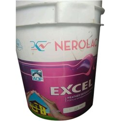High Sheen Nerolac Excel Weather Exterior Paint, Packaging Type: Bucket, Packaging Size: 20 Litre