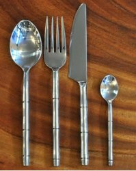 Bamboo Type Stainless Steel Cutlery Set