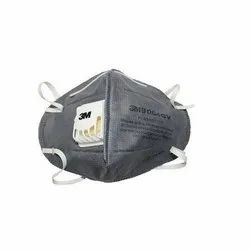 3M 9004GV Particulate Respirator Face Mask with Air Valve On SIde