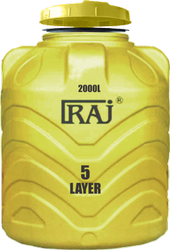 Raj 5 Layer Blow Moulding Tank