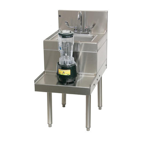 Bar Equipment Ss Blender Station With Single Sink
