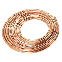 Round Copper Pipe, for Refrigerator
