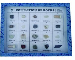 Collection of Rocks Model