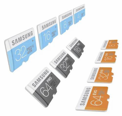 Samsung Micro Sd Cl 10 16gb Evo Plus Memory Card Phone At Rs 400