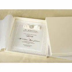 10 Am To 9 Pm Fabric Wedding Card printing service, Chandigarh
