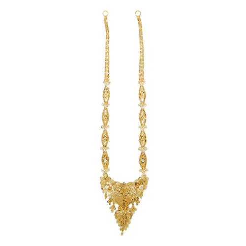 gold necklaces gold long haar manufacturer from mumbai