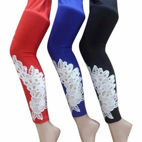 1f999556eabf6 Carlito Ladies Designer Leggings, Size: Free Size, Rs 200 /piece ...