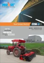 Weber Road Sweeper Machine