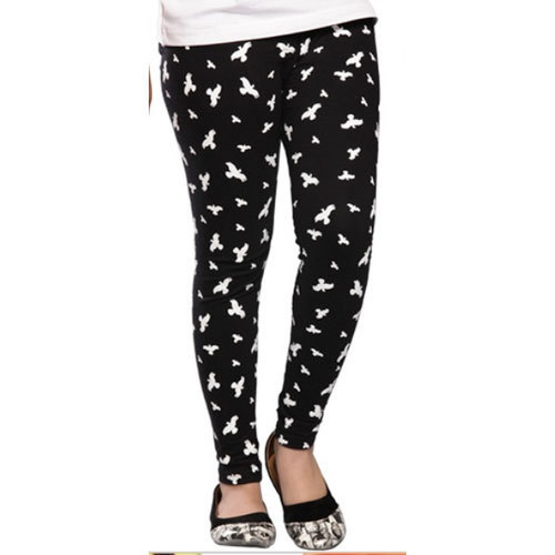 98976794b0 Sinkra Cotton Straight Fit Printed Ladies Legging, Size: XXL, Rs 160 ...