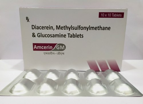Diacerein50mg, Glucosamine 750mg, Msm250mg, Energy 0 52kcal