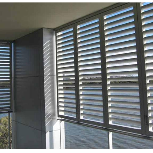 Aluminum Louvers At Rs 160 Square Feet Aluminium