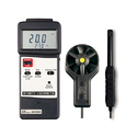 Humidity/Anemometer Meter Type K/J Temp.