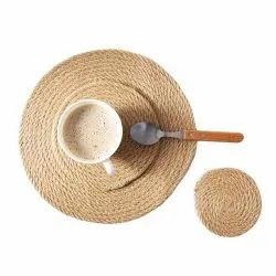 BRAIDED JUTE TABLE PLACEMATS