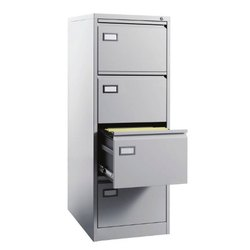 Fonzel FCV40 Four Drawer Metal Vertical Filing Cabinet