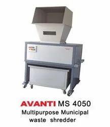 Municipal Waste Shredder Machine