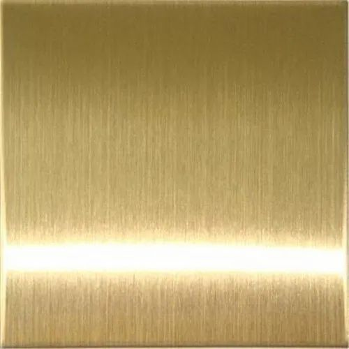 Stainless Steel Copper Hairline Sheets