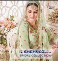 Shree Fabs Shehnai Bridal Vol 5 Georgette Embroidery Plazzo Style Salwar Kameez