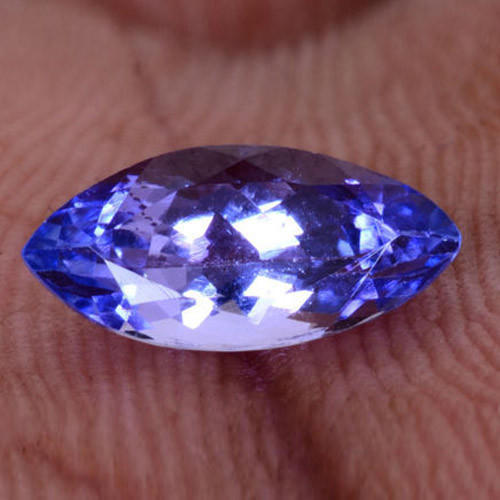 ixlib tanzanite gemstone purple loose ct rb ebth items