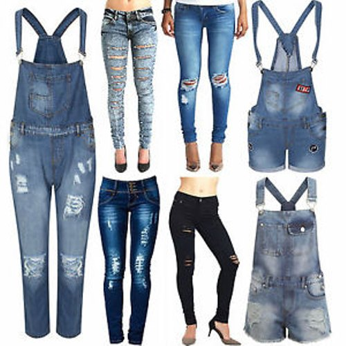 Ladies Stretchable Regular Jeans