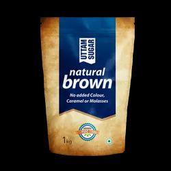 Refined Uttam Natural Brown Sugar, Powder, Packaging Size: 1Kg,10Kg
