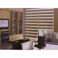 Office Zebra Window Blind