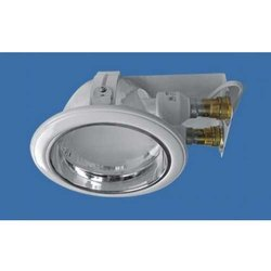 Horizontal Deep Glass Round Downlight