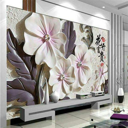 Customise 3D Wallpapers At Rs 120 Square Feet