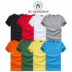 Casual Cotton Plain T Shirt 180 Gsm Bio Wash