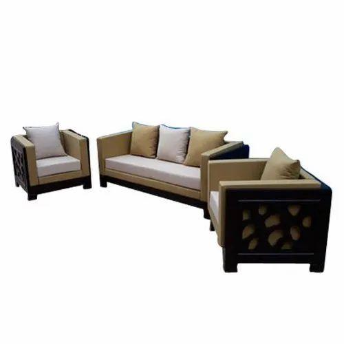 Modern Wooden (Frame Material) Modular Sofa Set for Home, Living Room