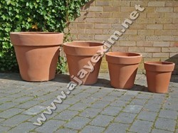 Clay Flower Pot with different size