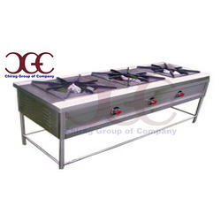 Chirag Commercial Gas Burner, Size: 4.5 Feet