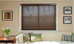 Wood Horizontal Wooden Blinds
