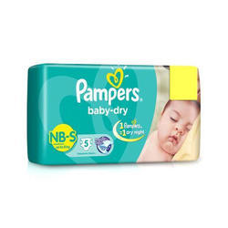 Newly Born Pampers Baby Diapers