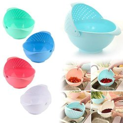 Deodap Multicolor Fruit Bowl foldable rice bowl, colander, Packaging Type: Box Packing