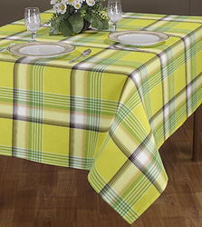 Cotton Check Table Cover
