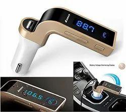 CAR G7  Bluetooth FM Transmitter Wireless in-Car FM Radio Adapter Car Kit
