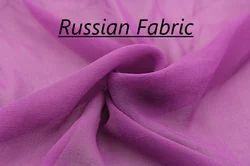 White Russian Georgette, Usage: Garments