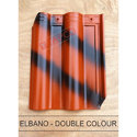 Ceramic Color Coated Elbano Double Color Roofing Tile
