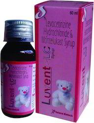 Montelukast Sodium 4 Mg Levocetirizine 2.5 Mg Syrup
