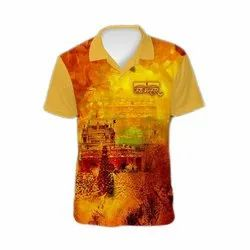 Polyester Sublimation T Shirt Printing Service