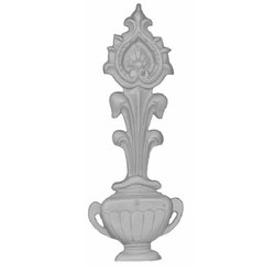 Designer Cast Iron Balcony Railing Pillar