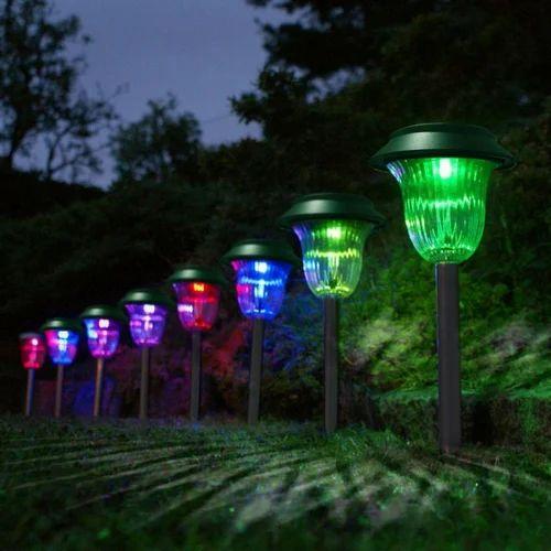 Lotus Garden Led Lights Landscape, Garden Light Led