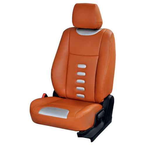 Elaxa Orange Car Seat Cover