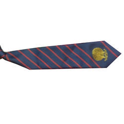 Cotton School Striped Printed Tie