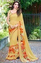 Georgette Indian Printed Saree