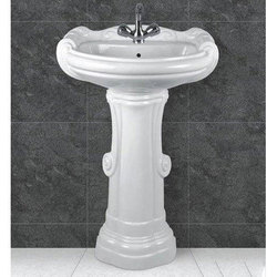 Ceramic Plain Bathroom Sanitary Ware Basin